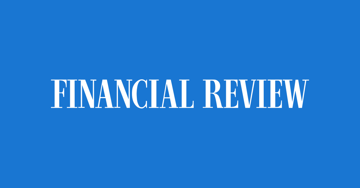 (News Article) Interview with Australian Financial Review (15 July 2021)
